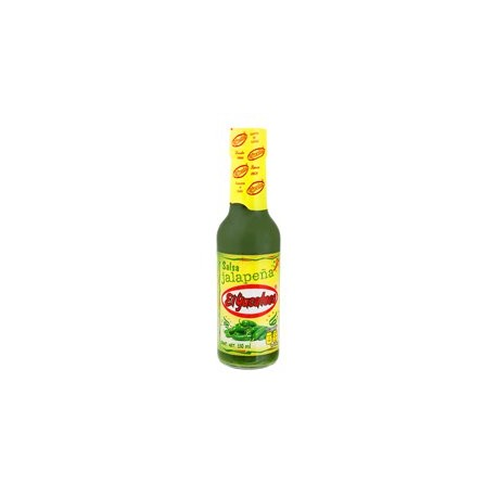Salsa chile Jalapeño frasco 150 ml El Yucateco