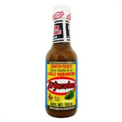 Salsa Kutbil-ik de chile habanero frasco 120 ml El Yucateco