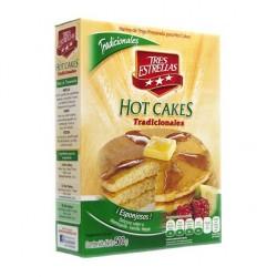 Harina para Hot cakes tres estrellas 500grs