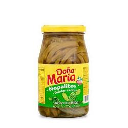 Nopalitos Doña Maria en tiras 850g frasco