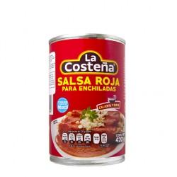 Salsa para enchiladas rojas La Costeña 420 g