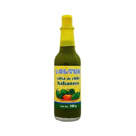salsa habanero verde Loltul 150g