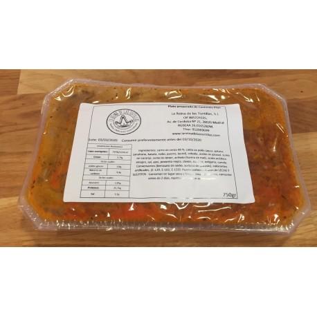 Cochinita Pibil La Reina bandeja 750 g