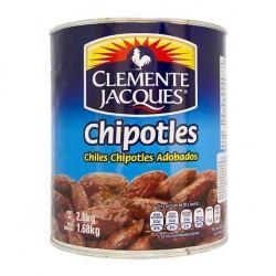 chile chipotle clemente jaques 2.8kg lata