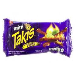 Mini Takis fuego 35 g